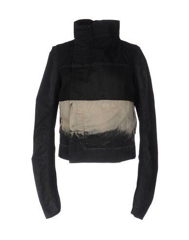 Rick Owens Drkshdw Denim Jacket In Black