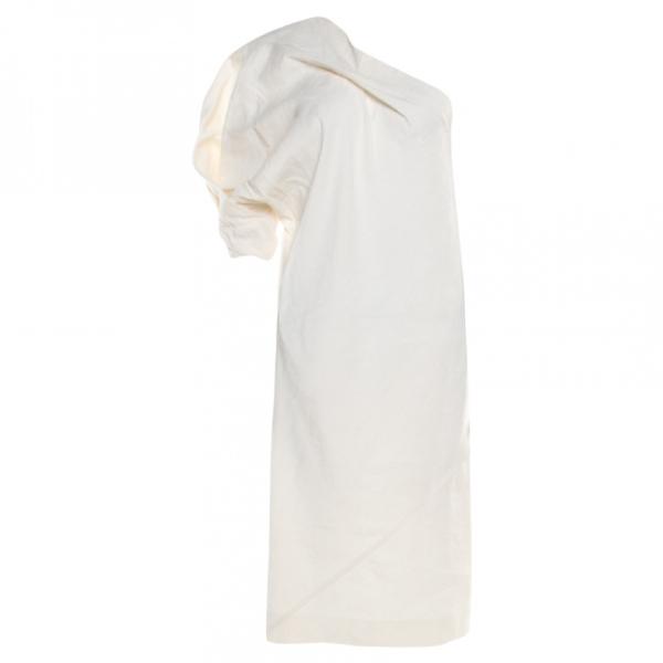 Bottega Veneta Beige Linen Dress