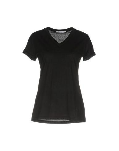 T By Alexander Wang T-shirts In Black