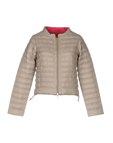 Duvetica Down Jacket In Khaki