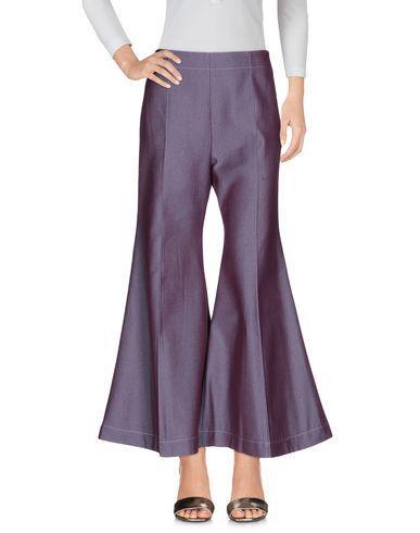Acne Studios Denim Pants In Purple