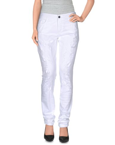 Giamba Casual Pants In White