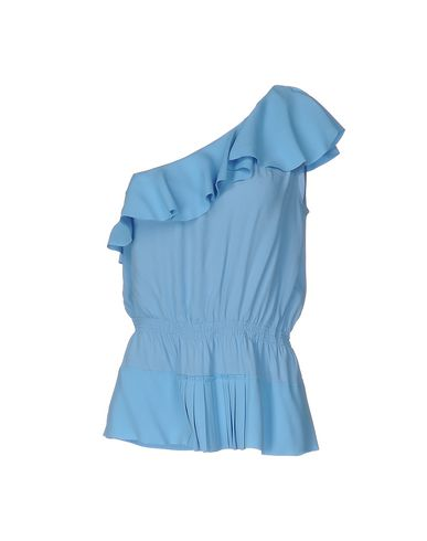 Pinko Tops In Sky Blue