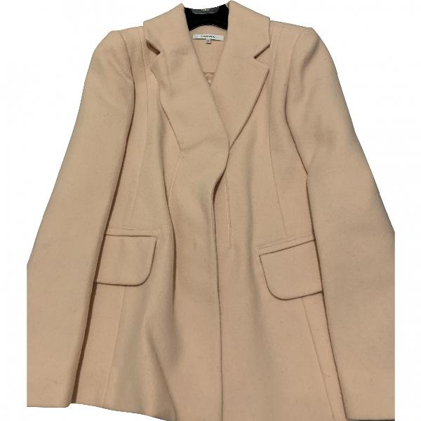 Carven Beige Wool Jacket