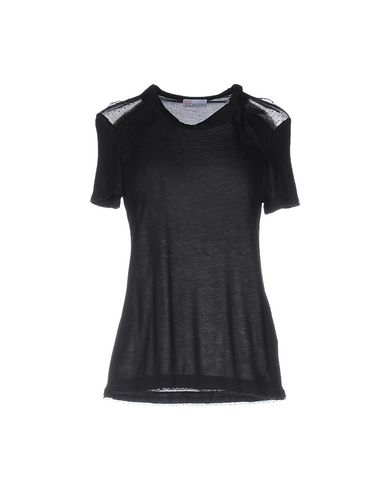 Red Valentino T-shirts In Black