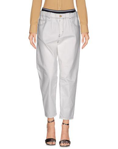 Emporio Armani Casual Pants In White