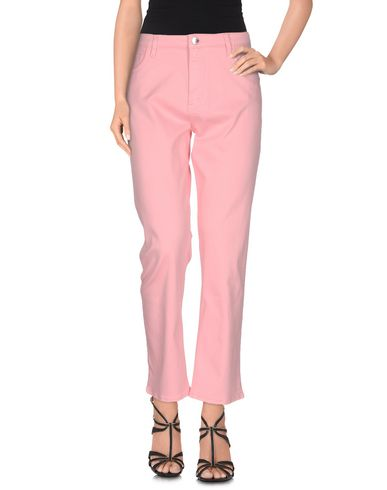 Love Moschino Denim Pants In Pink