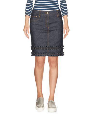 Boutique Moschino Denim Skirt In Blue