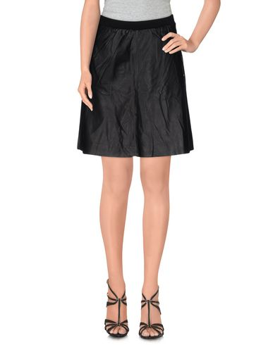 Karl Lagerfeld Knee Length Skirt In Black