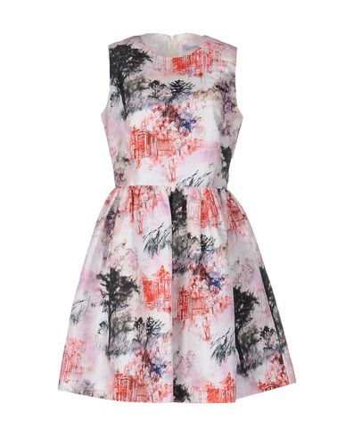 Red Valentino Short Dresses In Red