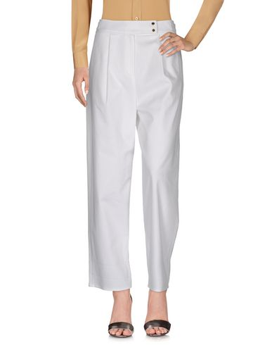 Kenzo Casual Pants In White
