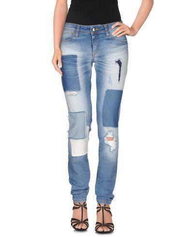 Just Cavalli Denim Trousers In Blue