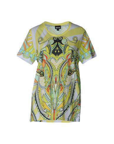 Just Cavalli T-shirt In Acid Green