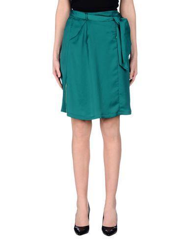 Love Moschino Knee Length Skirt In Green