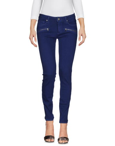 Paige Denim Pants In Pastel Blue