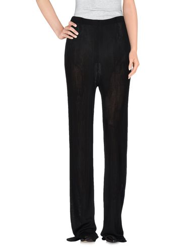 Msgm Casual Pants In Black