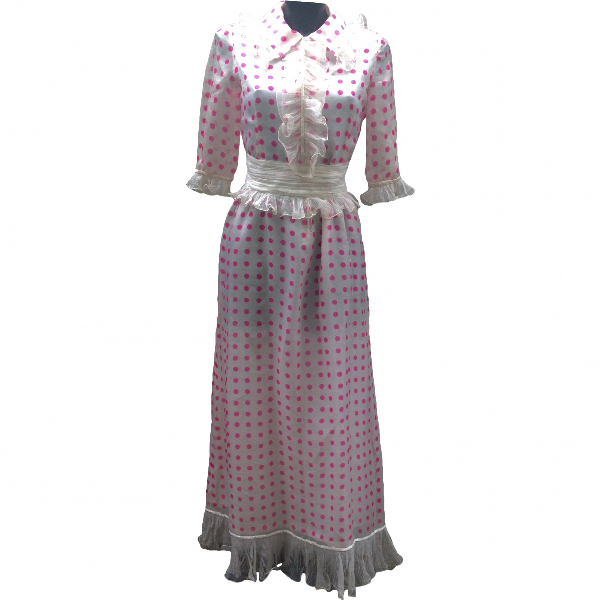 Roberto Capucci Pink Silk Dress