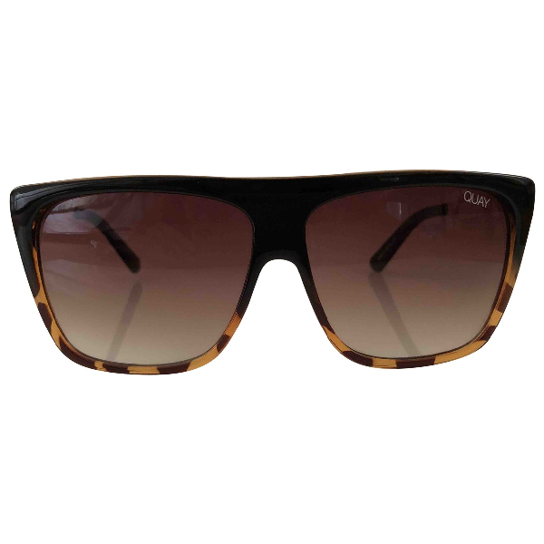Quay Brown Sunglasses