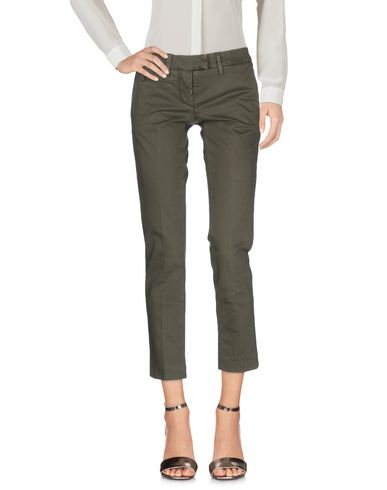 Dondup Casual Pants In Military Green