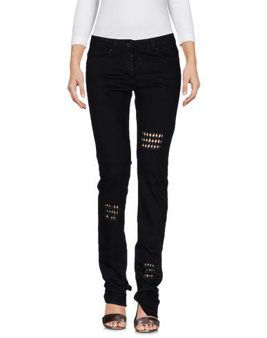 Karl Lagerfeld Denim Pants In Black