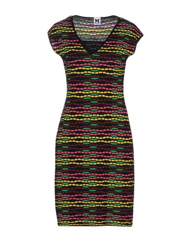 M Missoni Short Dress In Green