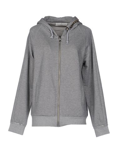 Golden Goose Hooded Sweatshirt In Light Grey