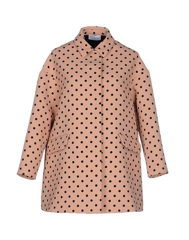 Red Valentino Full-length Jacket In Pastel Pink