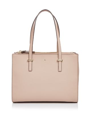 Kate Spade Cedar Street Jensen Small Saffiano Leather Tote In Toasted Wheat Pink