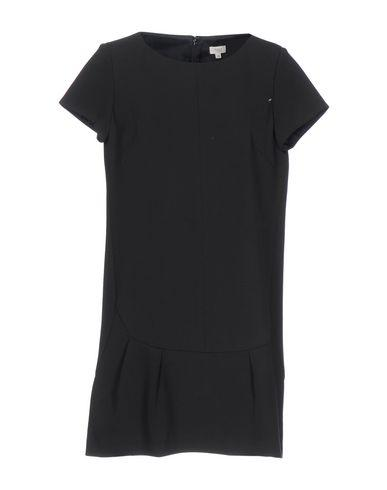 Intropia Short Dress In Black