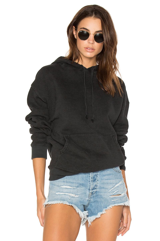 Legacy Oversized Hoodie In Black