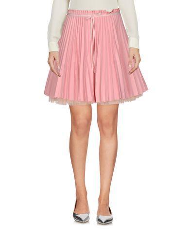 Red Valentino Mini Skirt In Pastel Pink