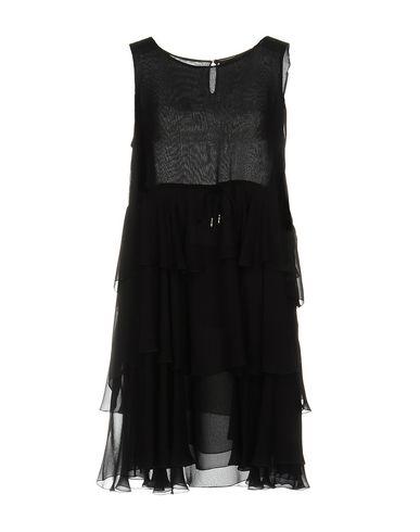 Ermanno Scervino Short Dress In Black