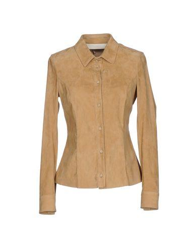 Drome Solid Color Shirts & Blouses In Sand