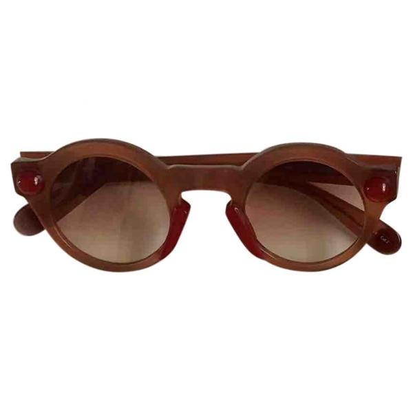 Christopher Kane Pink Sunglasses