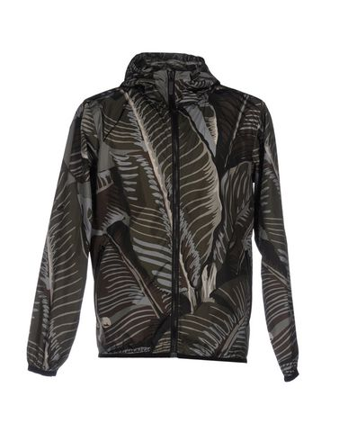 Palm Angels Bomber In Dark Green