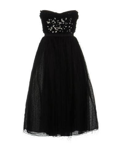 Red Valentino Knee-length Dresses In Black