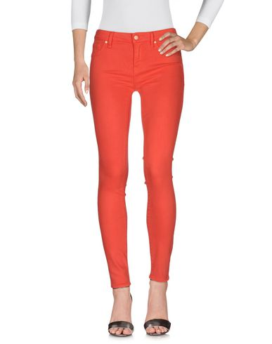 Marc By Marc Jacobs Denim Pants In Red