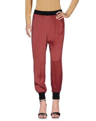 Intropia Casual Pants In Maroon