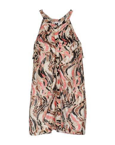 M Missoni Silk Top In Pink