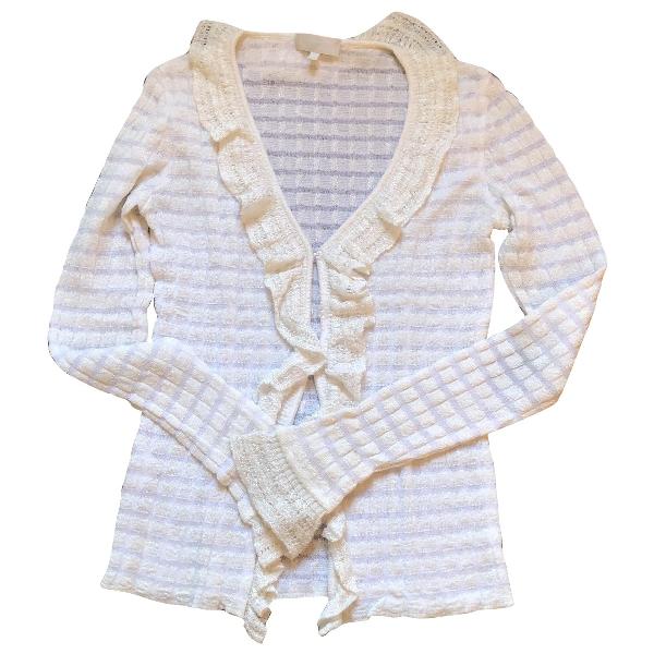 Luisa Beccaria White Knitwear