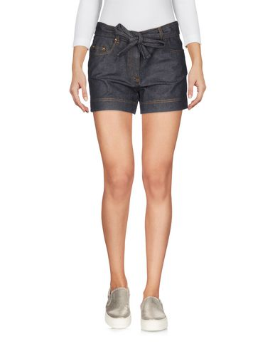 Boutique Moschino Denim Shorts In Lead