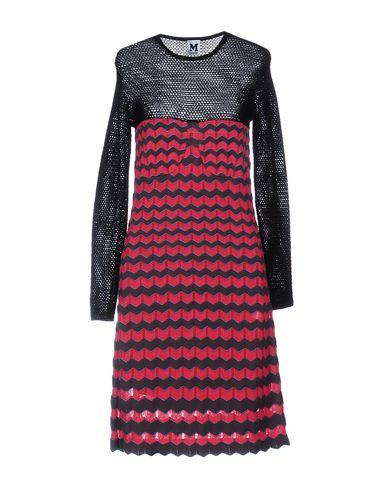 M Missoni Short Dress In Fuchsia
