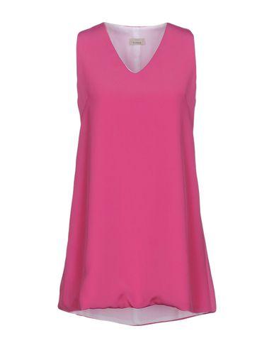 Pinko Short Dress In Light Purple