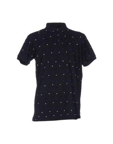 Scotch & Soda Polo Shirts In Dark Blue