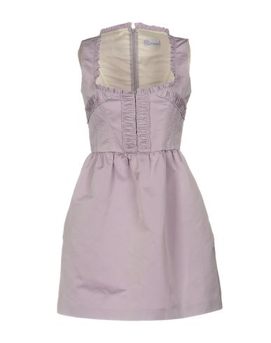 Red Valentino Short Dresses In Lilac