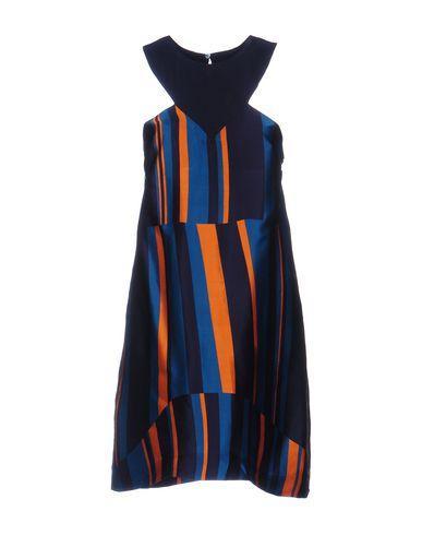 M Missoni Short Dresses In Dark Blue