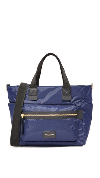 Marc Jacobs Biker Baby Bag In Midnight Blue