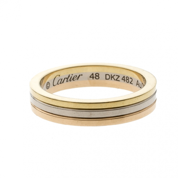 Cartier Trinity Yellow Gold Ring
