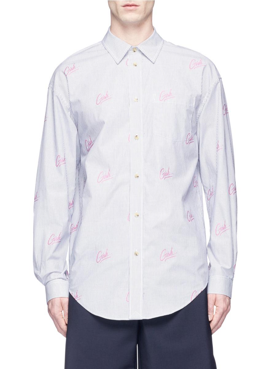 Alexander Wang 'girls' Jacquard Stripe Shirt