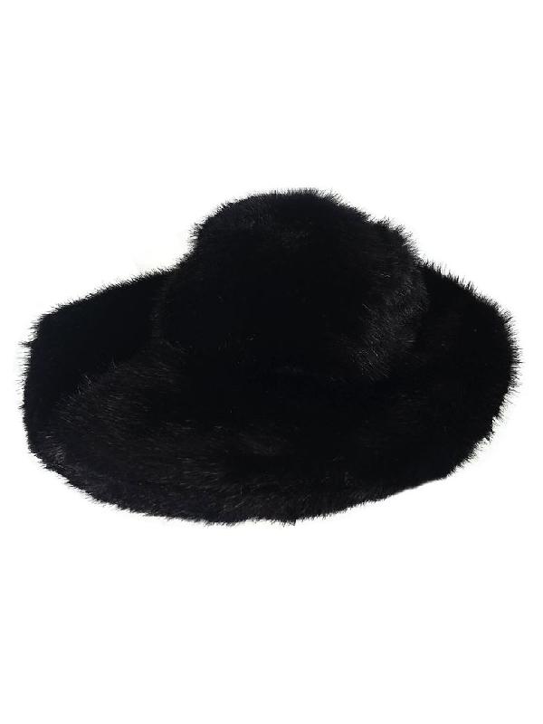 Tom Ford Fur Hat In Black